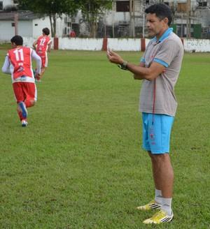 João Carlos Cavalo, treinador do Rio Branco-AC (Foto: Duaine Rodrigues)
