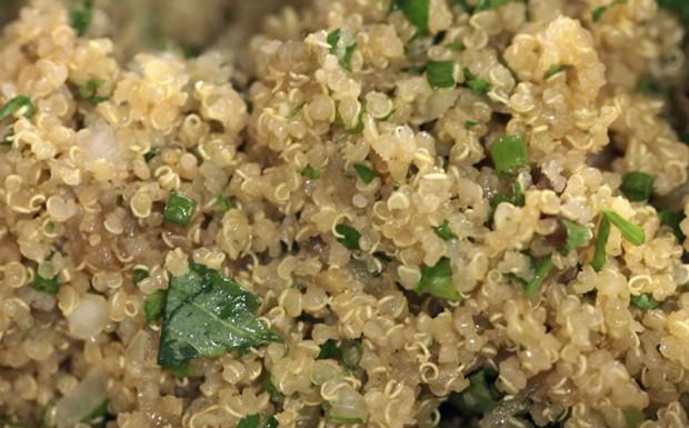 Bela Cozinha - Piquenique - Salada de quinoa com legumes (Foto: Reproduo / GNT)