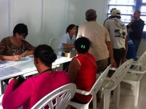 Famílias fizeram cadastro na prefeitura por programa social (Foto: Divulgação/ Prefeitura Tatuí)