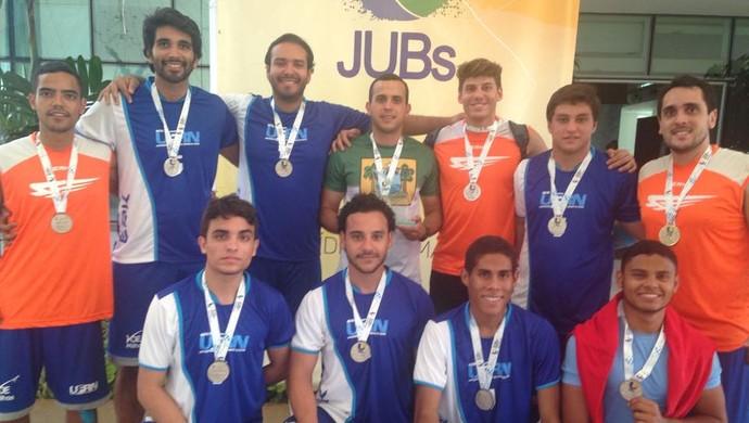 UFRN Handebol masculino JUBs (Foto: Divulgação)