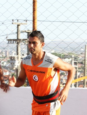 Tiago Granja, lateral do Campinense (Foto: Magnus Menezes / Jornal da Paraíba)