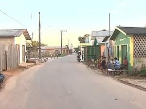 bairro da Praia Tarauacá (Foto: Reprodução TV Acre)