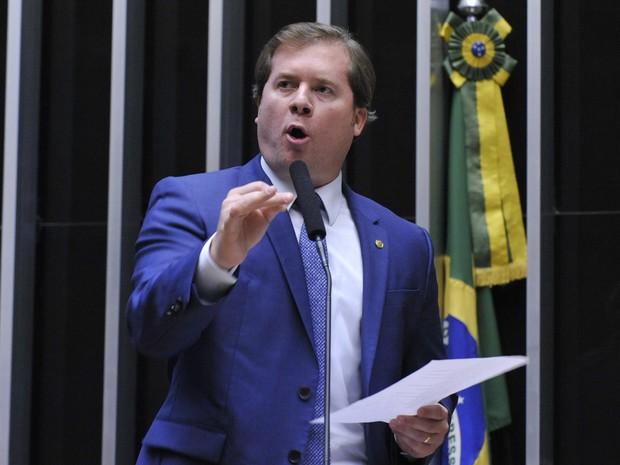 Deputado Marx Beltrão (PMDB-AL) durante sessão extraordinária na Câmara dos Deputados, em Brasília, em 04/05/2016 (Foto: Luis Macedo/Câmara dos Deputados)