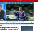 Ronaldo polemiza e diz que preferia ter feito pelo Real gol histórico do Barça
