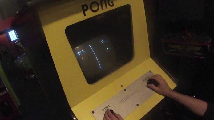 Pong: o protótipo de Pong Arcade que deu certo (Foto: Reprodução/YouTube)