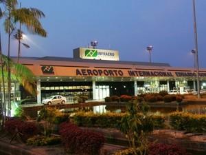 Aeroporto Internacional Eduardo Gomes, Zona Oeste de Manaus (Foto: Divulgação/Infraero)