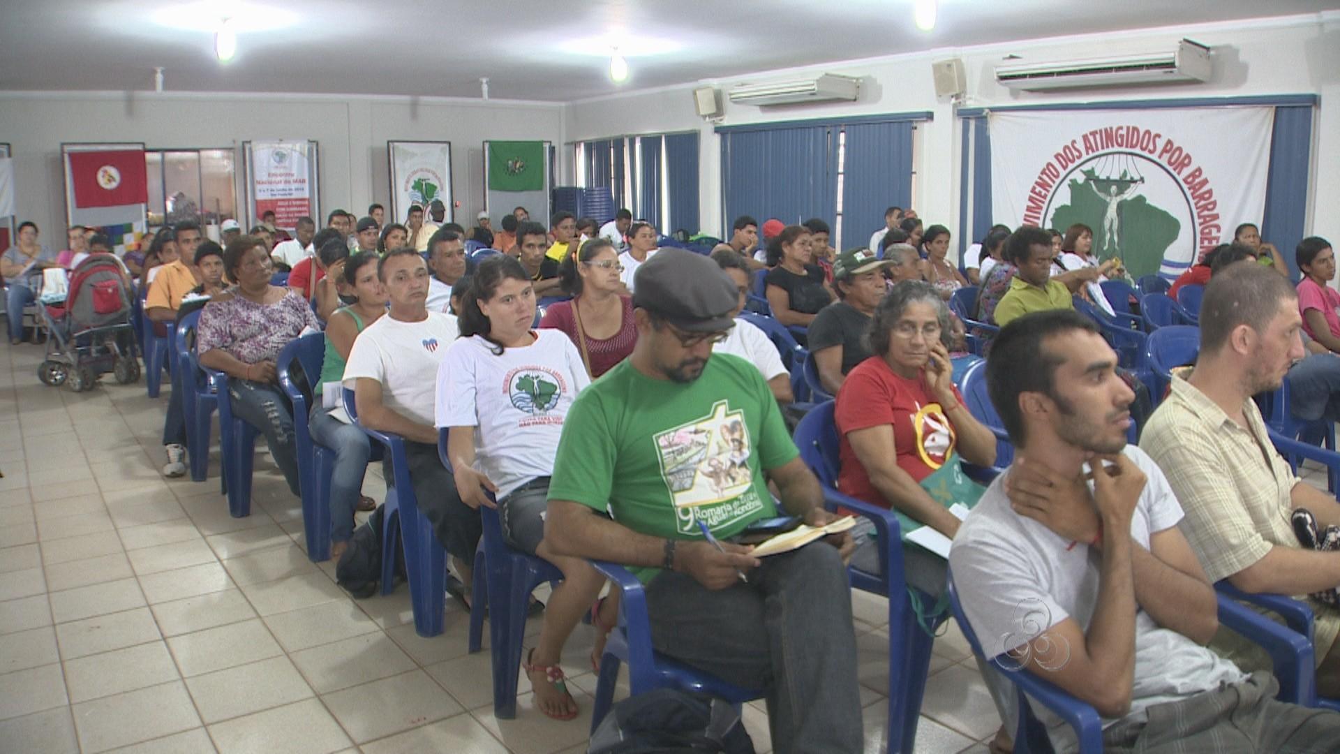 Representantes querem definir a pauta que será levada à Brasília (Foto: Amazônia TV)