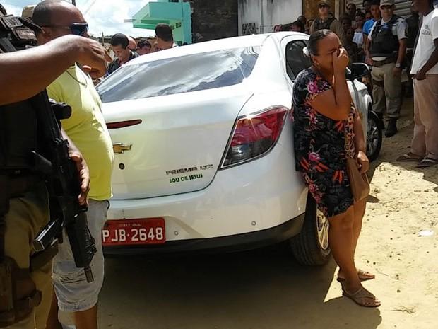 Segundo polícia, ainda não há informações sobre motivo do crime (Foto: Blog Verdinho Itabuna)