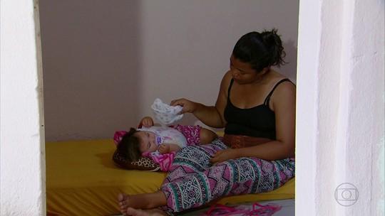 Bebês com microcefalia do interior ficam sem transporte para o Recife
