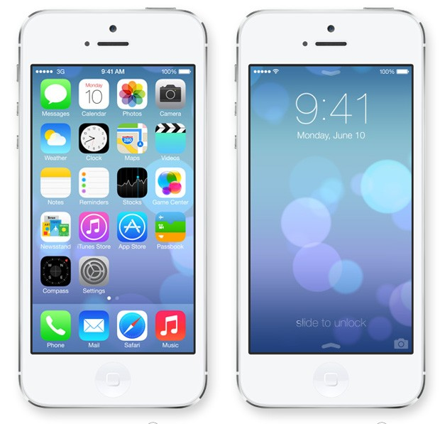 Novo sistema operacional iOS 7, anunciado pela Apple nesta segunda-feira (10/6) (Foto: Divulgação/Apple)