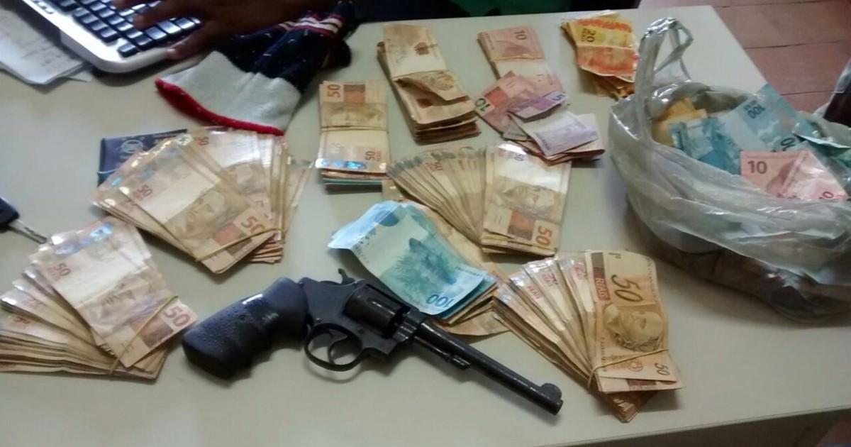 Três são presos suspeitos de assalto a lotérica em Santana do ... - Globo.com