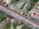 Taxistas bloqueiam acesso de carros ao Aeroporto de Congonhas, diz CET