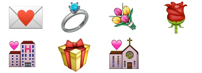 Símbolos de amor e união (Foto: Felipe Alencar/TechTudo)