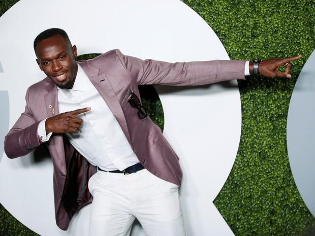 Usain Bolt em evento em Los Angeles, nos Estados Unidos (Foto: Danny Moloshok/ Reuters)