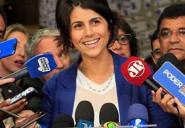 Deputada Manuela D'Ávila (Foto: Reprodução/Facebook/Manuela D'Ávila)