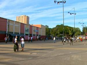 Manifestantes vão se reunir na Praça do Mercado Municipal em São Carlos (Foto: Reprodução/EPTV)