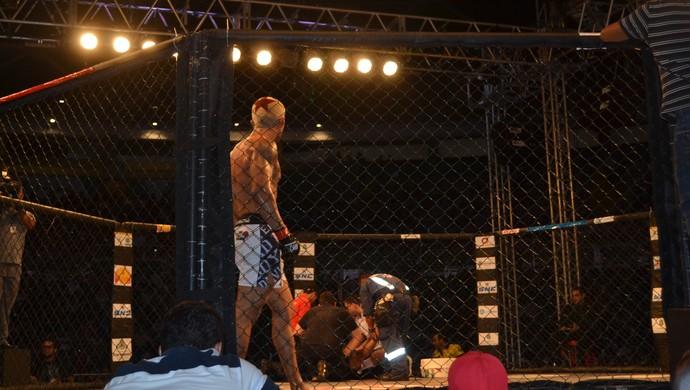 chiqueirim; guerreiro; bkf (Foto: Juscelino Filho)