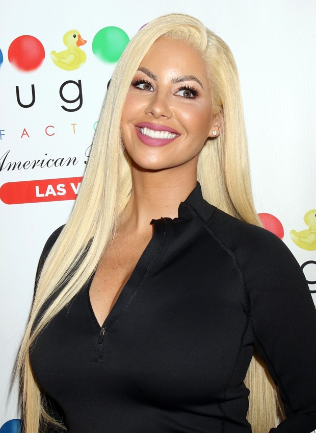 Amber Rose de peruca (Foto: Getty Images)