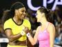 """Serena aplica """"pneu"""" em Radwanska e vai à final na Austrália sem perder sets"""