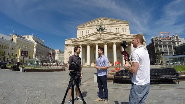 Equipe fez gravações na Rússia (Foto: RBS TV/Divulgação)