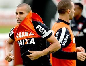 Emerson Sheik treino Corinthians (Foto: Daniel Augusto Jr. / Ag. Corinthians)