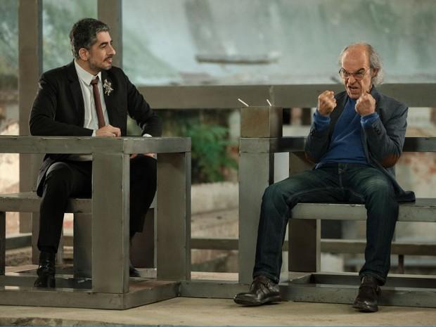 Bipolar Show: Michel Melamed e Osmar Prado (Foto: divulgao)