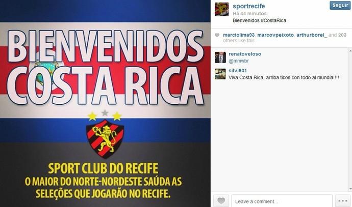 Costa Rica - Sport (Foto: Reprodução/Internet)