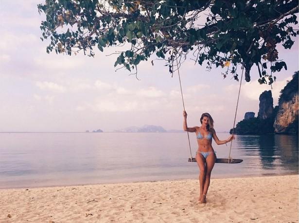 A modelo britânica Rosie Huntington-Whiteley. (Foto: Instagram)