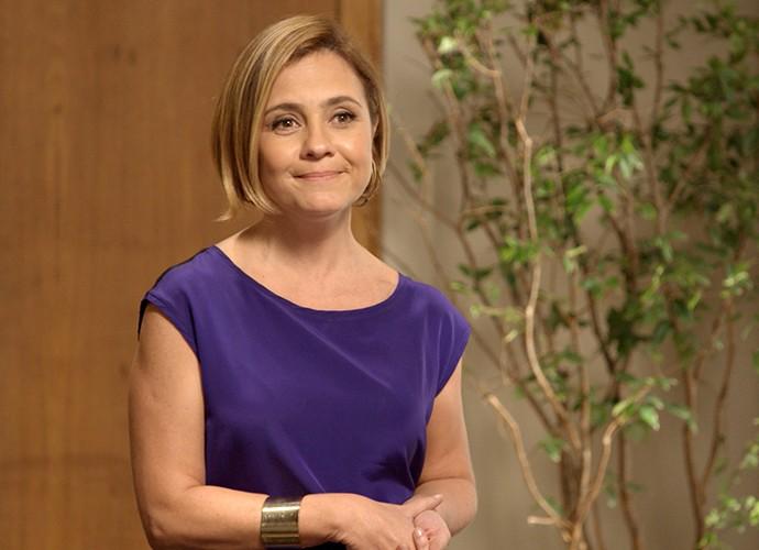 Inês afronta Beatriz (Foto: TV Globo)