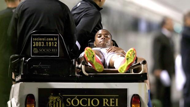 Robinho, Santos e Atlético-Pr (Foto: Getty Images)