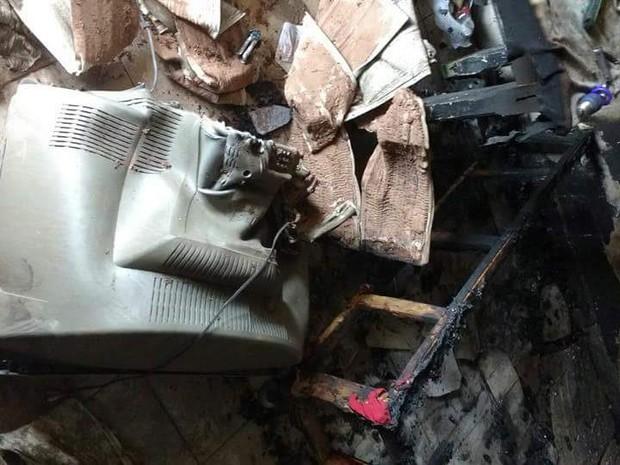 Jovem foi presa após tocar fogo em apartamento do marido (Foto: Arquivo pessoal)
