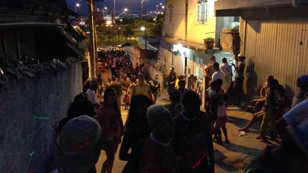 Protegidos da Princesa comemora no Morro do Mocotó (Eduardo Fernandes/CBN Diário)
