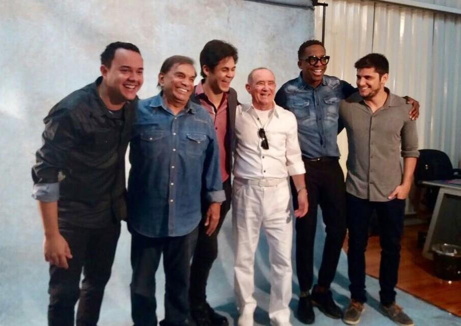 'Os Trapalhões' tem coletiva com Renato Aragão, elenco e direção