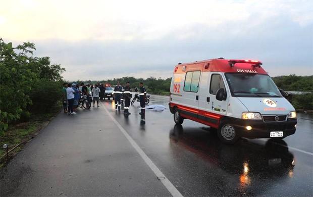 Em Mossor?, homem foi morto ao reagir a assalto na BR-304 (Foto: Marcelino Neto/O C?mera)