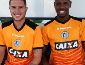 Carlos Quiroga e Darlan, reforços do ASA (Foto: Divulgação ASA)