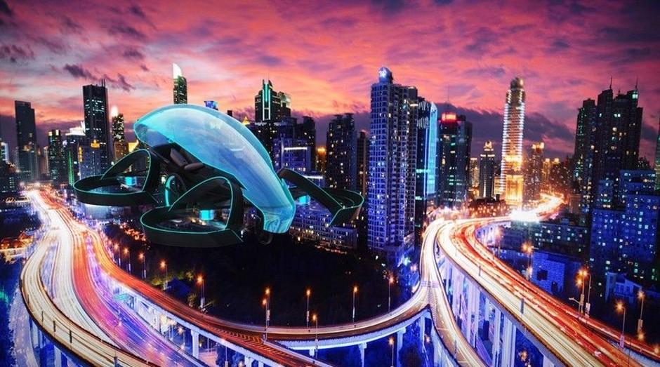 A Toyota quer transformar o carro voador em realidade com o Sky Drive (Foto: Divulgação)