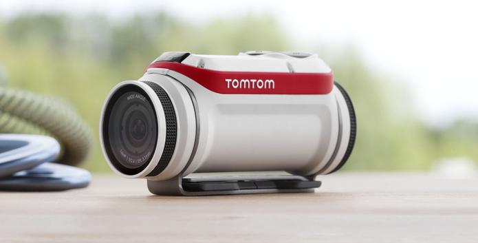 Câmera de ação TomTom faz vídeos em 4K e fotos em 16 MP (Foto: Divulgação/TomTom)