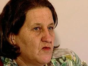 Valdinéia foi diagnosticada com a doença (Foto: Reprodução/ TV Gazeta)