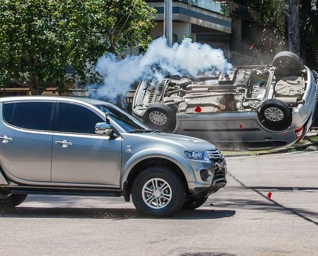 E a coisa foi séria! (Foto: Artur Meninea/TV Globo)