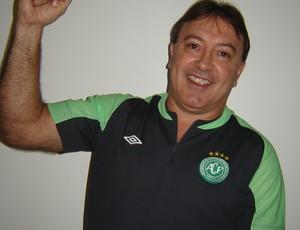 João Carlos Maringá Chapecoense (Foto: Arquivo Pessoal)