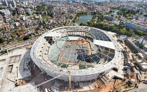 Fonte Nova (Foto: Nilton Souza/ Arena Fonte Nova)