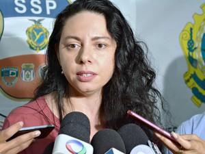 Secretária-executiva-adjunta Tâmera Maciel afirma que novas operações devem acontecer (Foto: Daniel Landazuri/SSP-AM)