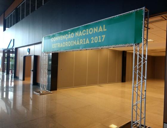 Convenção Nacional do PMDB (Foto: Nonato Viegas)