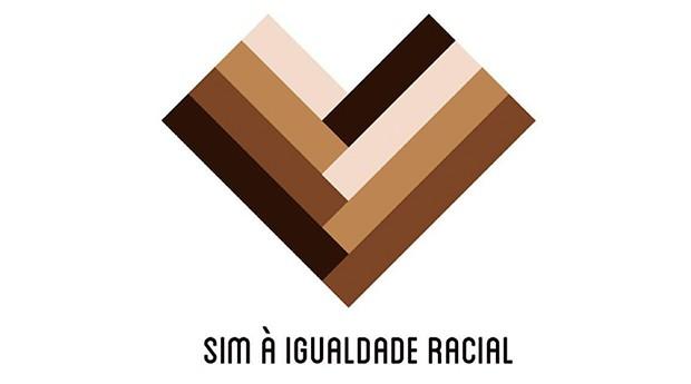 Coração criado pelo ID_BR simboliza a luta pela igualdade racial (Foto: Divulgação)