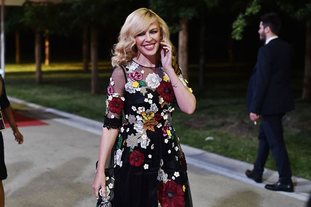 Kylie Minogue (Foto: Jacopo Raule/Getty Images for Bocelli & Zanetti Night)