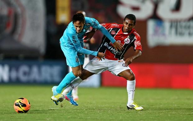 Neymar, Joinville x Santos (Foto: Heuler Andrey/Agência Estado)