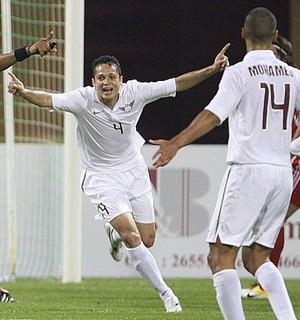 Anderson Martins ex-Vasco gol pelo Al-Jaish (Foto: Divulgação/SMG assessoria)