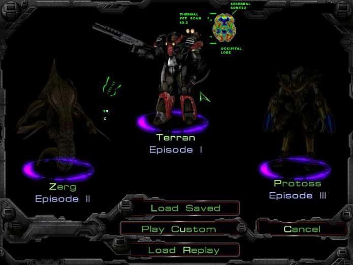 StarCraft tem três principais raças (Foto: Reprodução/Felipe Vinha)