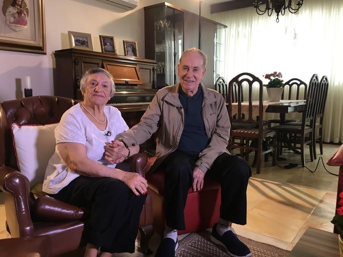 Conheça histórias de quem está há décadas juntos  (Foto: RBS TV/Divulgação )