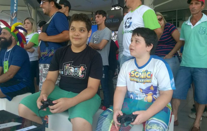 Oitava edição do TEM GAMES tem início em Itapetininga (Foto: Francine Leite/G1)